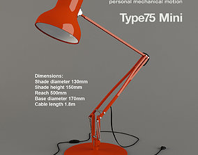 Anglepoise Type 75 Mini 3D