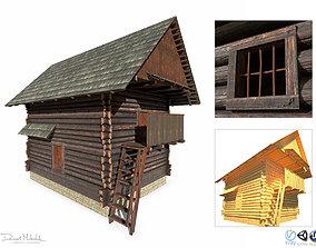 3D asset Warehouse Building - Slav Architecture