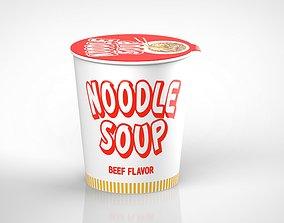 noodle soup 3D