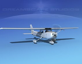 Cessna 150 Commuter Bare Metal 3D