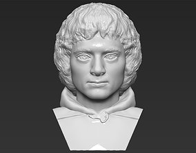 Frodo Baggins The Lord of the Rings bust 3D printing