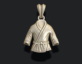 jewelry Kimono pendant 3D print model