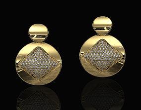 Brilliant Stylish Earrings 3D printable model