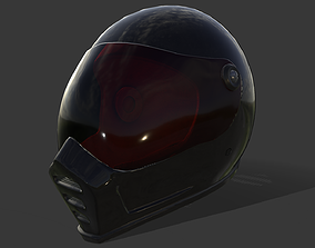 Motorcycle Helmet - Tutorial Included 3D model