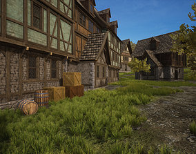 3D asset Medieval Modular Pack