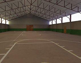 sport hangar 3D model