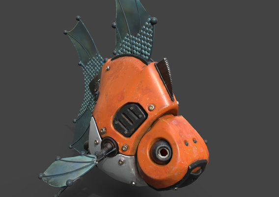 GOLDFISH ROBOT MODEL