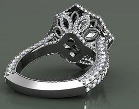 3D print model Stella engagement ring human