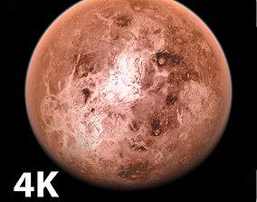 3D 4K Photorealistic Venus ocean