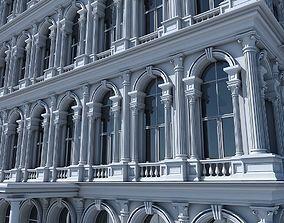 Commercial Building Facade 16 3D