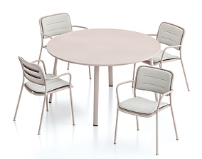 3D model Kettal Village Table and Chair 3