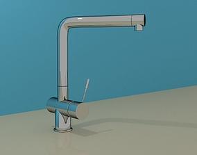 Faucet Kitchen Sink 001 3D