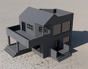 3D printable model villa home