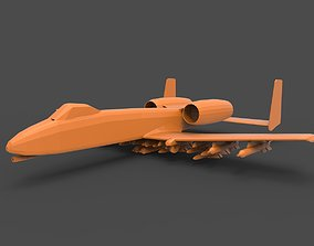 3D printable model A-10 Thunderbolt