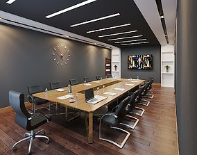 3D Director office contemporary