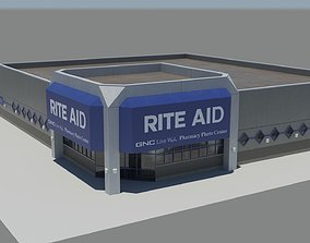 3D model realtime Rite Aid Pharmacy