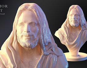 jesu Savior bust Jesus torso print model