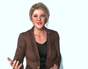 3D animated Scarlett Johansson