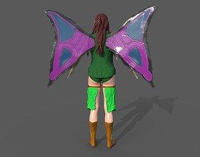 3D Fairy Girl