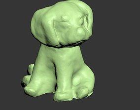 Dog 03 3D print model dog