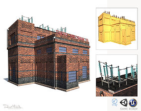 3D model High Voltage Factory