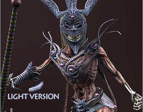 Dead Shaman Light Version 3D model
