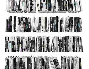 Books 150 pieces 2-2-5 3D model