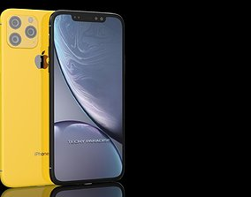 iphonexir iPhone 11 3d Model 2019