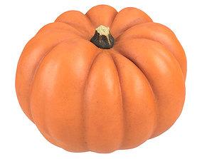 Photorealistic Mandarin Pumpkin 3D Scan 1