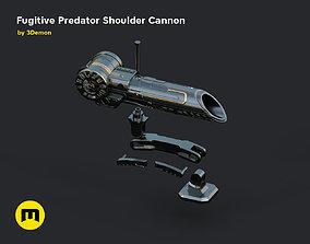 3D print model Fugitive Predator Shoulder Plasma Cannon 1