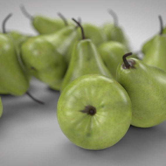 Fruits 3D Models