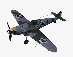 Bf109 G-10 3D model realtime