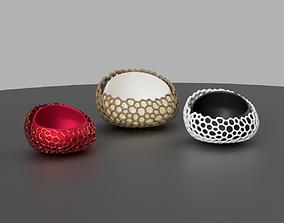 succulent pot 3D print model