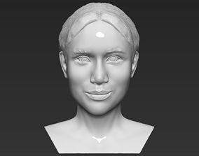 Meghan Markle bust 3D printing ready stl obj