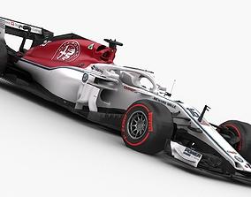 F1 Sauber C37 2018 3D