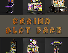 3D casino slot machine PACK