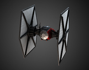 First Order Tie Fighter 3D model