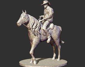 Cowboy Sculpture 3D print model