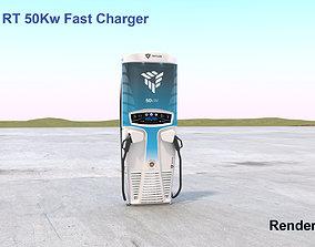 3D Tritium 50Kw DC Fast Charger