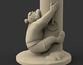3D printable model Yao figurine