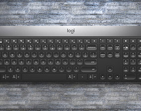 3D model logitech craft keyboard