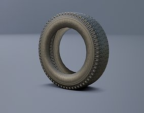 3D model Tire for truck GAZ 3307