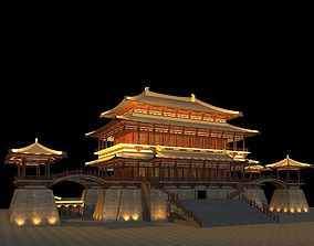 China Temple lighting 1 3D