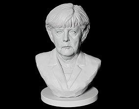 3D print model Angela Merkel