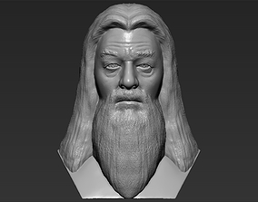 Dumbledore from Harry Potter bust 3D printing ready stl