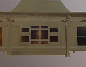 3D model Japanese Temple