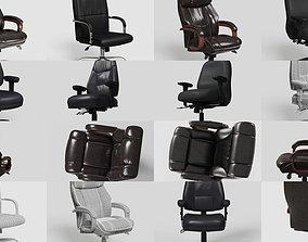 Office Chairs Premium Kit 3D