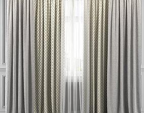 3D Curtain Set 317