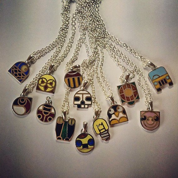 """""""Inamals"""" collection of pendants"""