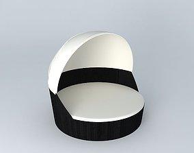 3D model Sofa ANTIBES houses the world